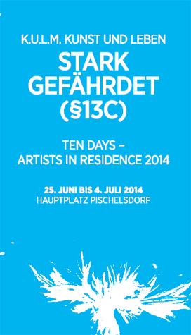 Ten days - artists in residence 2014